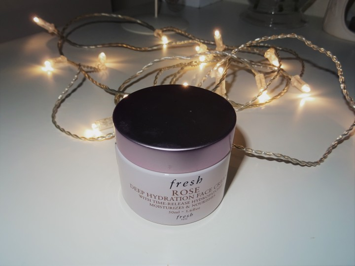 J'ai testé la Deep Hydration Face Cream de la marque Fresh : Verdict